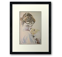Dina and Mattie Framed Print