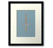 Super Mario Brothers Framed Print