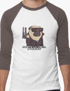 The Pugginator Men's Baseball ¾ T-Shirt