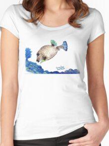 Casper - Ocean Series Tropical Fish Women's Fitted Scoop T-Shirt