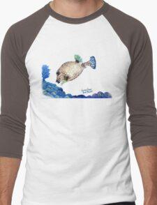 Casper - Ocean Series Tropical Fish Men's Baseball ¾ T-Shirt