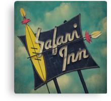 Safari Inn Canvas Print