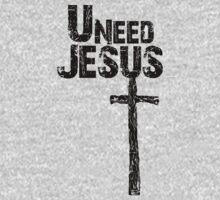 U Need Jesus (Dark) by tiffsho