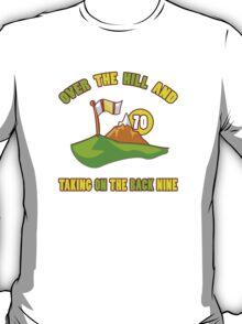 Funny 70th Birthday Golf Gift T-Shirt