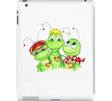 Grasshopper family picture iPad Case/Skin