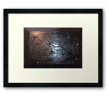 Shattered Mirror Framed Print