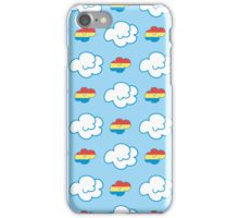 Rainbow Dash Clouds iPhone Case/Skin