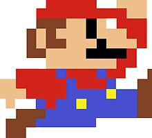Pixel Mario by nlturk
