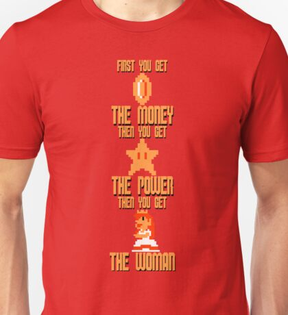 Mario Montana (NES colors) Unisex T-Shirt