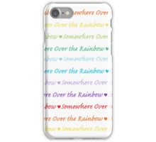 Over the Rainbow iPhone Case/Skin