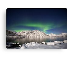 Arctic night Canvas Print