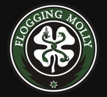 Flogging Molly Irish Band Music logo black t-shirt tshirt shirt by ardidwiseptiawa