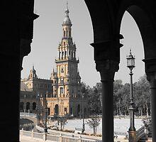 2 Arches, Plaza de Espana, Seville by wiggyofipswich