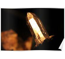 Laser Wand Quartz Crystal Poster