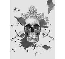Skull & Swords Photographic Print