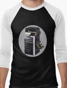☝ ☞ BEER PHOTOCOPIER TEE SHIRT☝ ☞ Men's Baseball ¾ T-Shirt