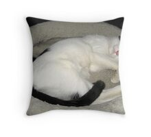 Katniss Is Sleeping Throw Pillow