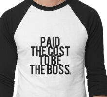 Paid the Cost Men's Baseball ¾ T-Shirt