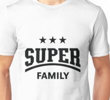 Super Family (Black) Unisex T-Shirt