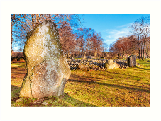Testament - Standing Stones of the Scottish Highlands by Mark Tisdale