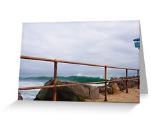 Defiantly A Big Day At City Beach Ten 26 06 13 Greeting Card