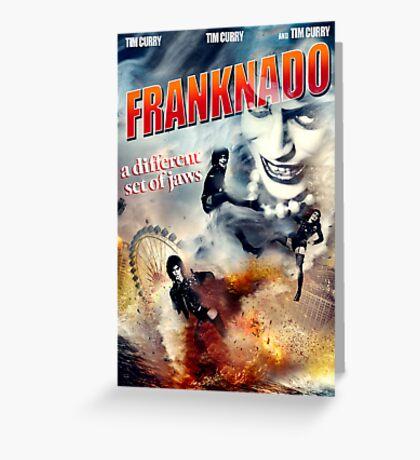 FRANKNADO! Greeting Card
