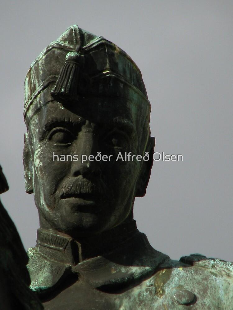 King Christian X of Denmark by hans p olsen