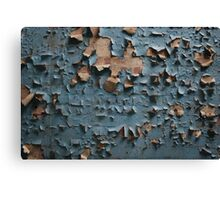 Peeling Wallpaper  Canvas Print