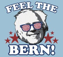 Feel the BERN! (vintage distressed look) Baby Tee