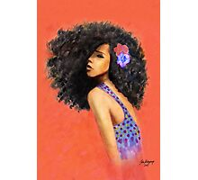 Afro Blessing Photographic Print