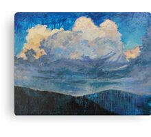 Rapture in a Mosaic Sky Canvas Print