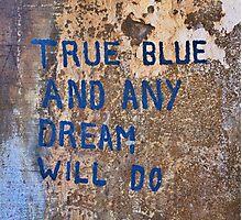 True Blue - Chiara Conte Photographic Print