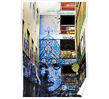 Melbourne Lane Way 101 Poster