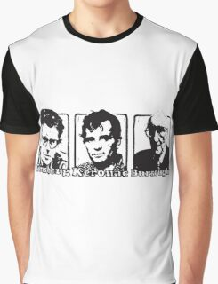 Beat Trinity: Kerouac, Burroughs and Ginsberg  Graphic T-Shirt