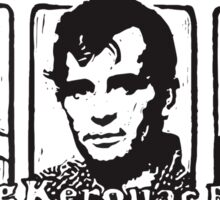 Beat Trinity: Kerouac, Burroughs and Ginsberg  Sticker