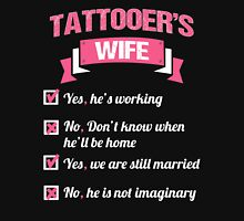 TATTOOER'S WIFE Womens Fitted T-Shirt