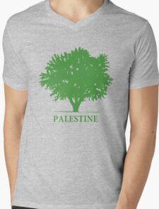 Palestine olive tree T shirts & Gifts Mens V-Neck T-Shirt