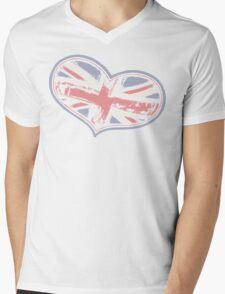 Great Britain Mens V-Neck T-Shirt