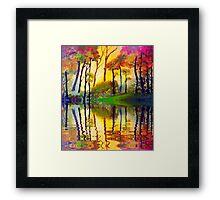 October Sunrise Framed Print