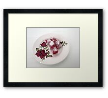 Exotic and Delicious - Rose Turkish Delight (for rasim1) Framed Print
