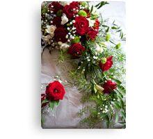 Bridal Flowers Canvas Print