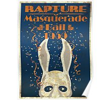 Rapture Masquerade poster Poster