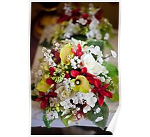 Brides Mades Flowers Poster