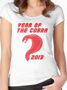 Year of the Cobra Women's Fitted Scoop T-Shirt