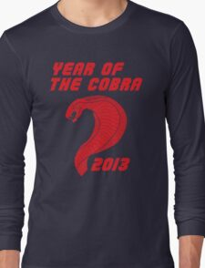 Year of the Cobra Long Sleeve T-Shirt
