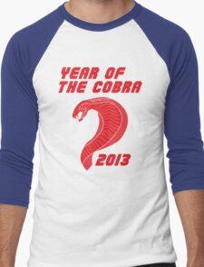 Year of the Cobra Men's Baseball ¾ T-Shirt