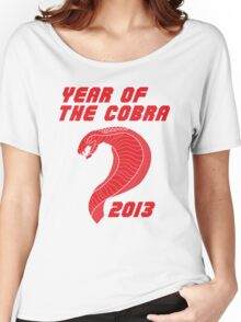Year of the Cobra Women's Relaxed Fit T-Shirt