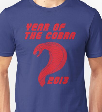 Year of the Cobra Unisex T-Shirt