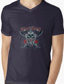Silent death Mens V-Neck T-Shirt