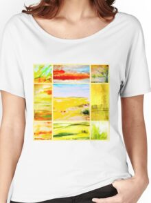 landscapes Women's Relaxed Fit T-Shirt